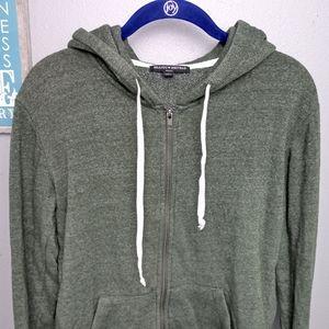 Brandy Melville Zip Up Sweater 0078